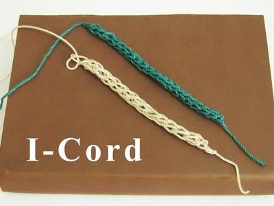 Crochet    Tutorial Merajut I-Cord    How To Crochet an I-Cord