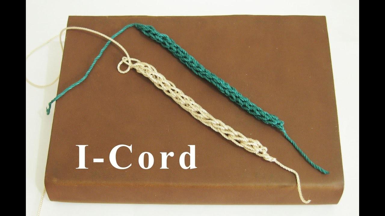 Crochet || Tutorial Merajut I-Cord || How To Crochet an I-Cord