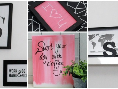 DIY Room Decor: Wall Art + Whiteboard & Chalkboard | Sabrina Putri