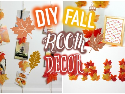 DIY Fall.autumn tumblr room decor!. Muchabless