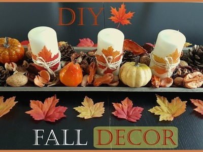 DIY Fall.Herfst Home Decor 2016 | Lisz Moreno
