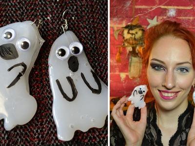 DIY: Fluoriserende Spookjesoorbellen