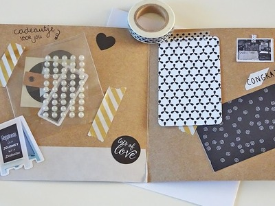 DIY snailmail craft kaart | Nouk-san