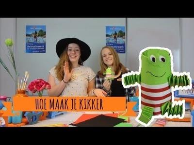 #DIY Hoe knutsel je kikker van Max Velthuijs? || Knutseljuffen