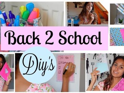 BACK 2 SCHOOL DIYS. Mylifeasamber