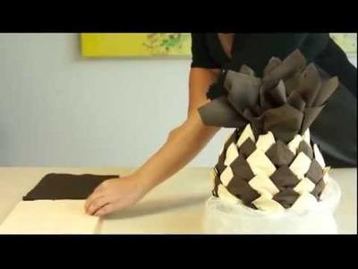 AVA servetten vouwen: de ananas