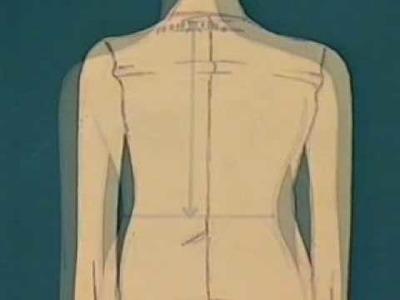 Naaipatroon veranderen: Korte rug en lange rug