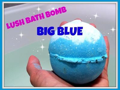 Review.Demo Lush Bath Bomb Big Blue met echt zeewier!