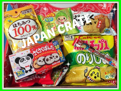 Unboxing en review Japanse snacks Premium Box van Japan Crate
