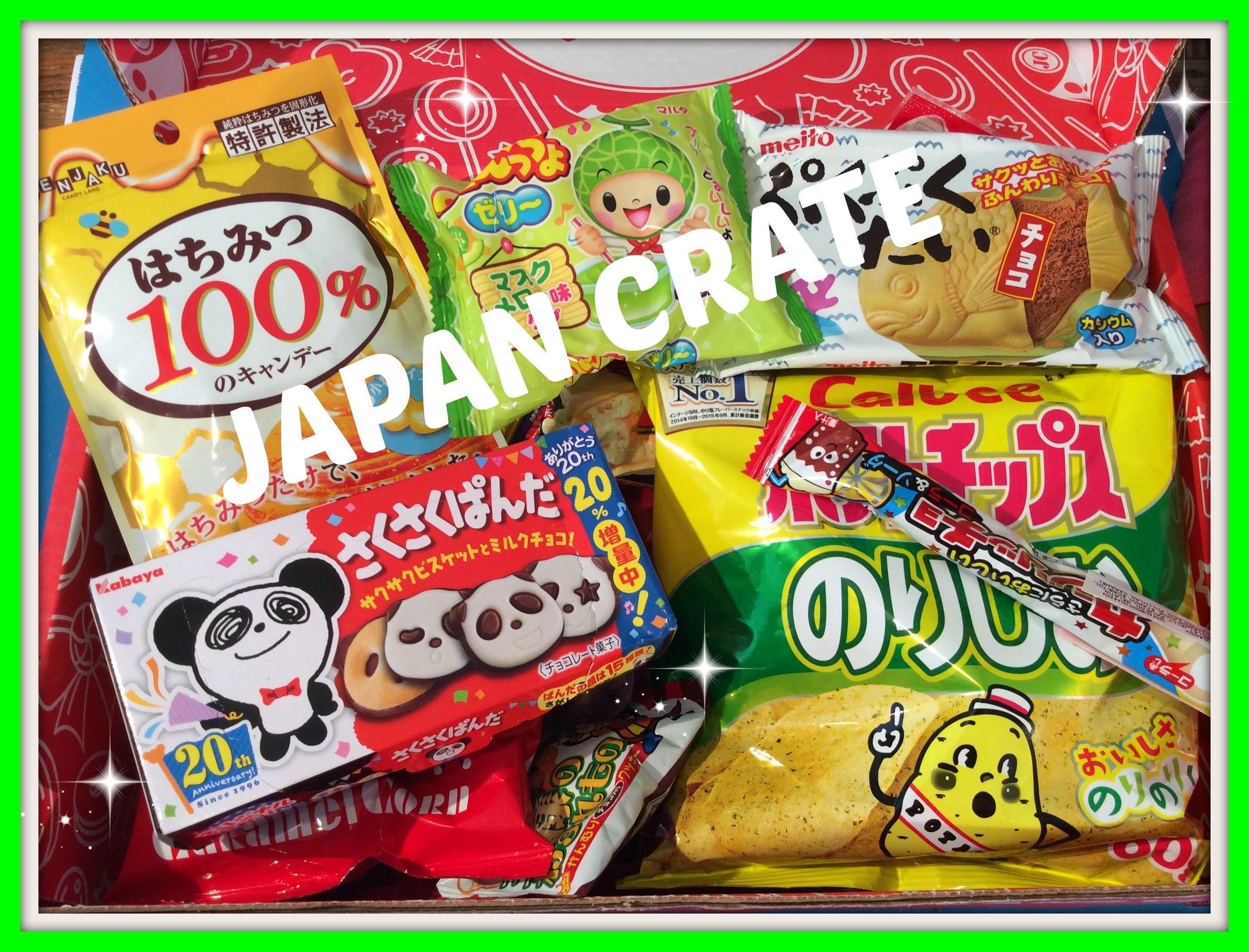 Unboxing en review Japanse snacks Premium Box van Japan Crate