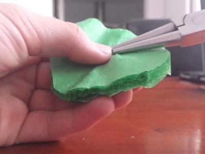 Creapapier bloemen maken DIY
