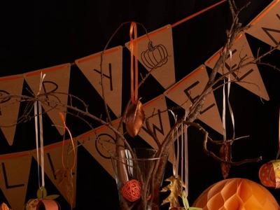 DIY Halloween Herfst Slingertjes