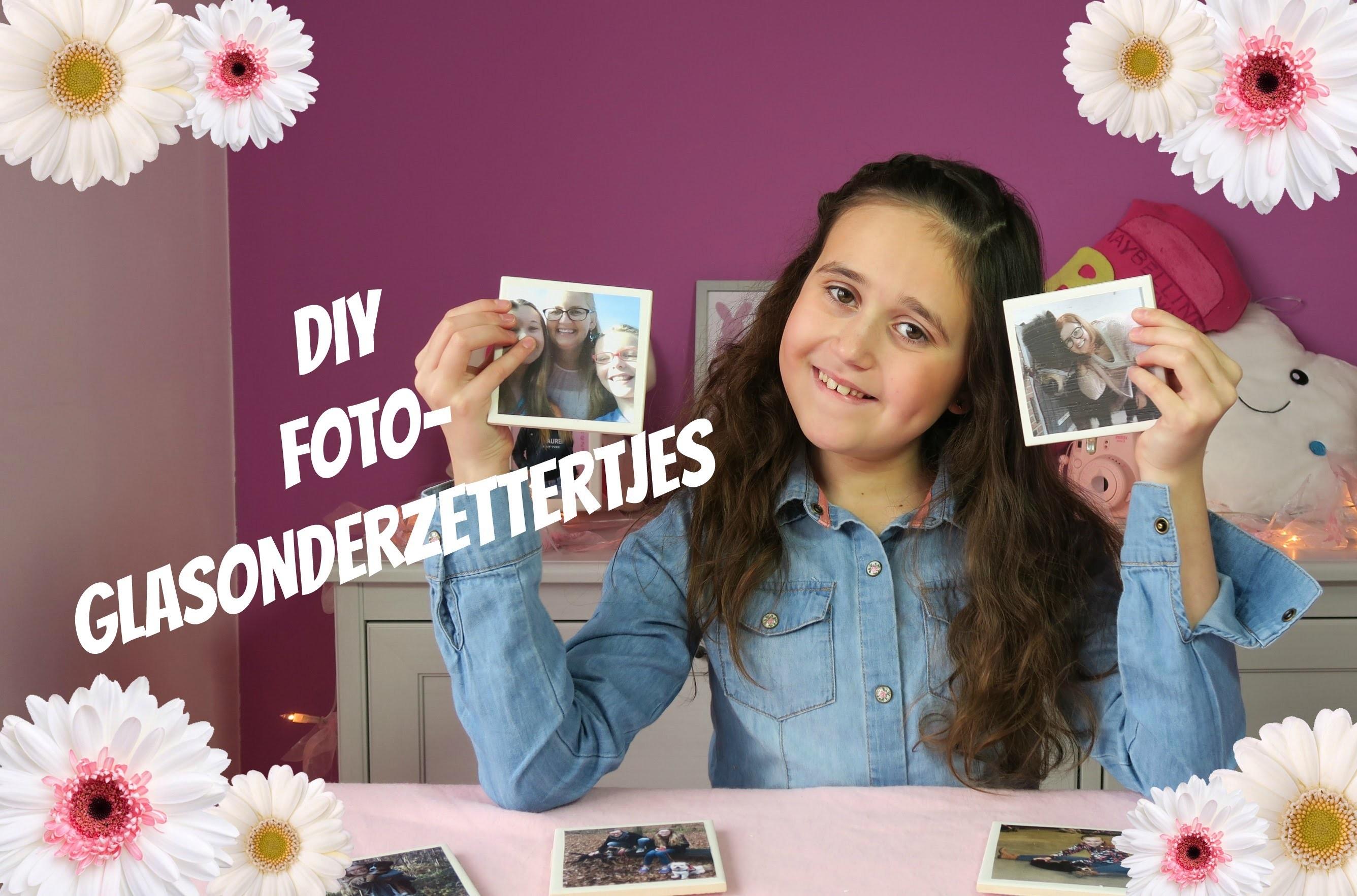 DIY foto-glas-onderzettertjes