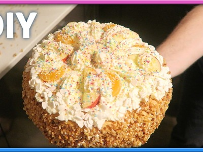 DIY - Gender Reveal cake maken!