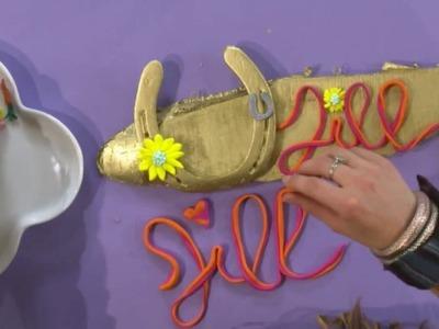 Jill - DIY: Maak je eigen naambordje!