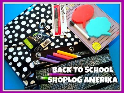 Back to School Shoplog tijdens onze vakantie in Amerika