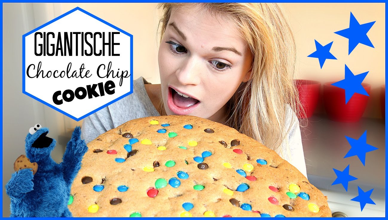 Koken met Pauline: Gigantische Choc. Chip Cookie! | Lifestyle Spot