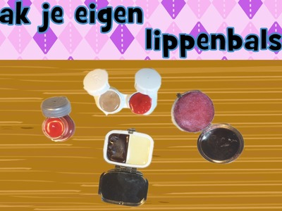 Lipgloss maken - DIY zelf Lippenbalsem. lipgloss maken met Vaseline en limonadesiroop