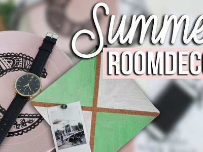 SUMMER ROOM DECOR | Sabrina Putri