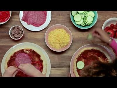 Pizza versieren - Allerhande Kids