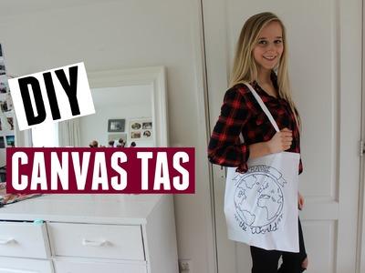 DIY Canvas tas #2 ♥ MADEBY Noelle