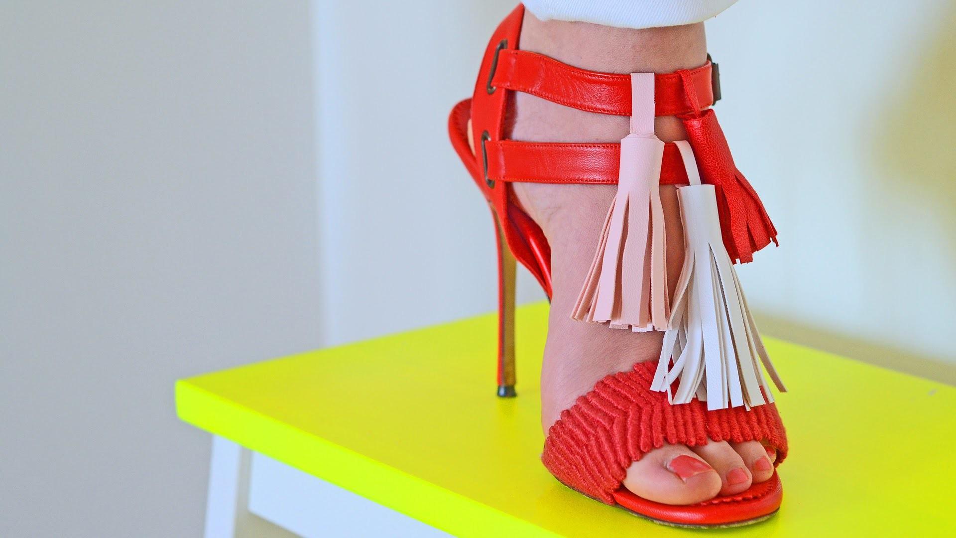DIY: Shoe Tassels - Belmodo Blogger Delfien Debroux