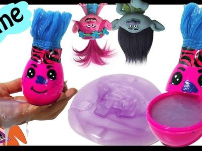 DIY Trolls slijm zonder lijm! Geen wasmiddel, lensvloeistof, Borax, maizena (Nederlands)