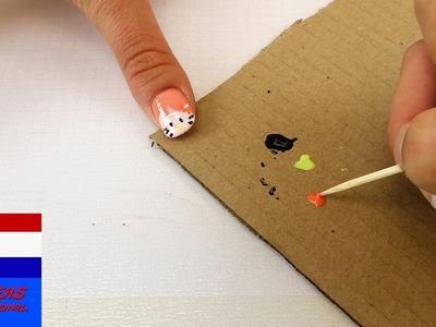 Hello Kitty Nagels | DIY Nageldesign met Hello Kitty heel makkelijk zelf te maken