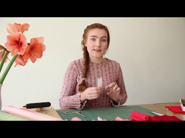 DIY | Zo maak je een crêpepapieren Pioenroos
