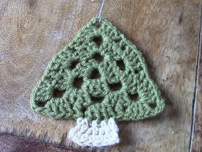 Haken - tutorial: kerstboom hanger