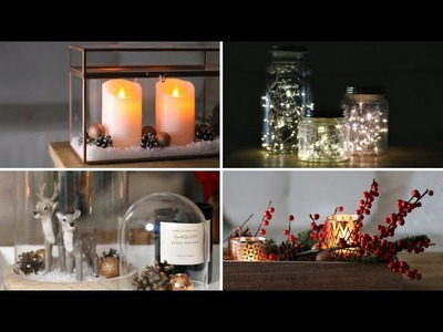 Kerstdecoratie tips, inspiratie, ideetjes en DIY's