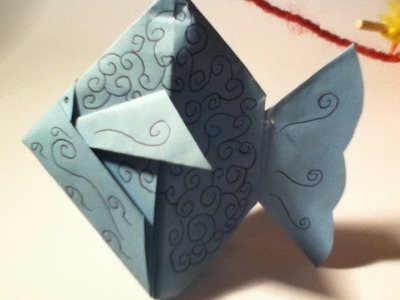 RubHoe vouw je een vis. how to fold a fish