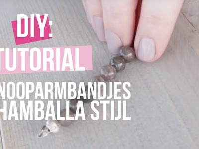 DIY Tutorial: KNOOPARMBANDJES SHAMBALLA STIJL