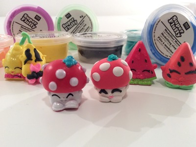 Unboxing en Review: Super Fluffy klei (Shopkins maken)