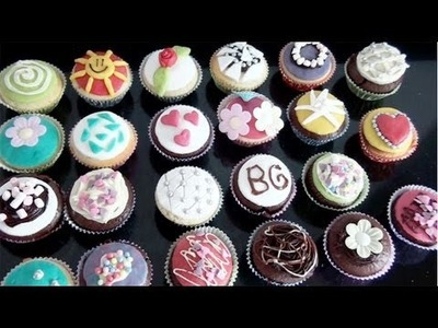 Cupcakes versieren met Dr. Oetker