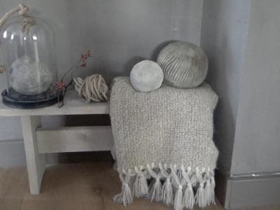 DIY Betonnen bal