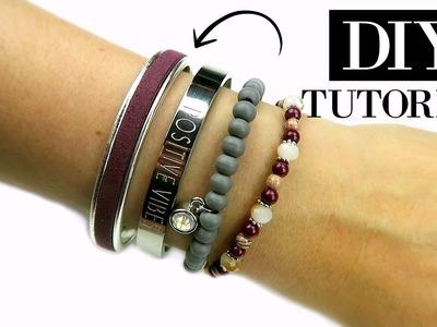 Hoe Maak Je Een Cuff Armband Met leer?