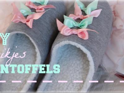 DIY Strikjes Pantoffels ♥ MADEBYNoelle