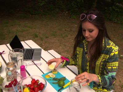 Jills SummerVlog 8: DIY zomerdrankje en dé tip tegen muggenbeten