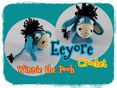 Winnie the Pooh Crochet.Eeyore.Winnie the Pooh.Crochet : ถักตุ๊กตาอียอร์ ฟรีแพทเทิร์น