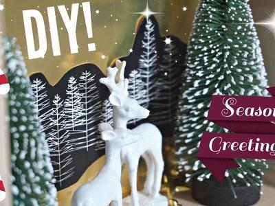 DIY ❄ 2x Kerstdecoratie in huis! ❄