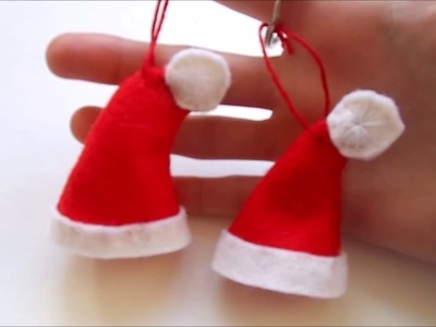 Diy, kerstmuts(hanger)