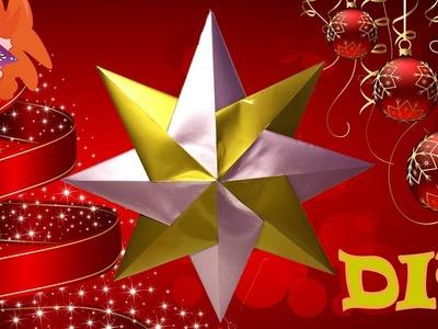 DIY origami ster vouwen (Nederlands) - knutselen voor kerst