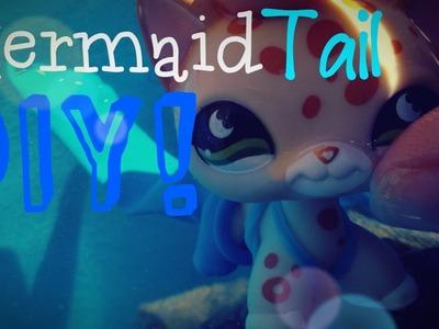~Lps~ Mermaid Tail DIY!