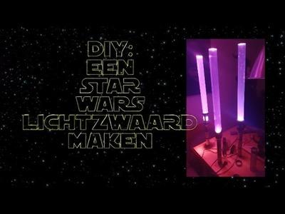 DIY: Star Wars lichtzwaarden maken.