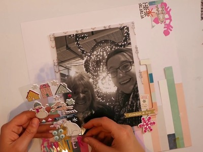 Scrapbook Layout Process Video - 6 December