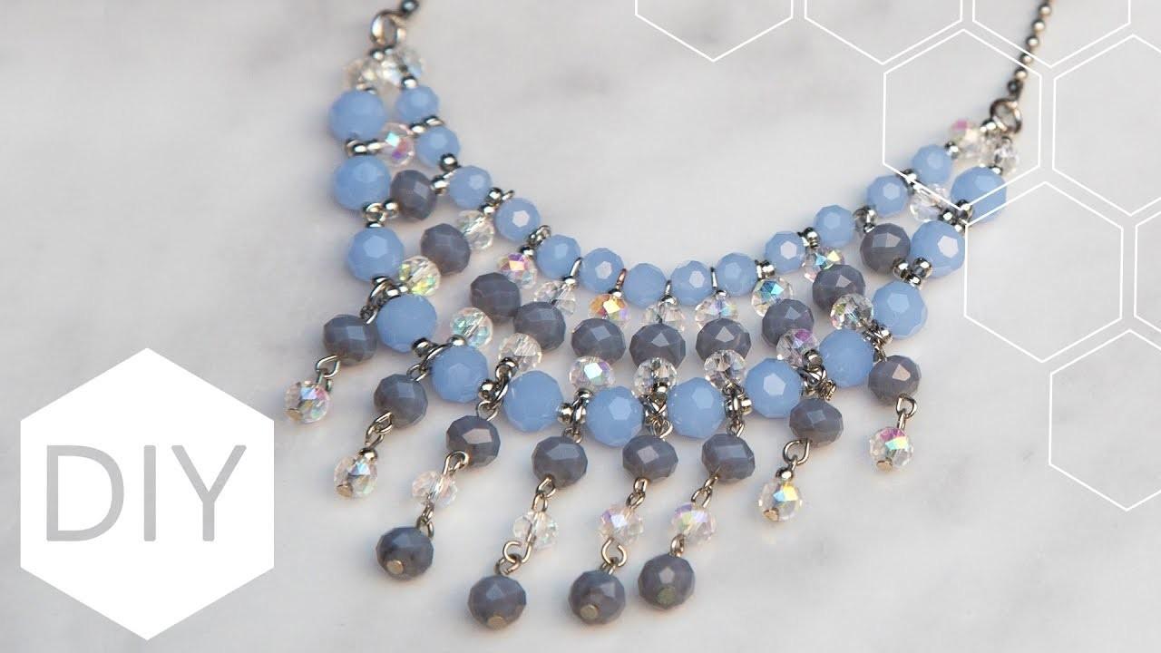 DIY sieraden maken met Kralenhoekje - Statement ketting