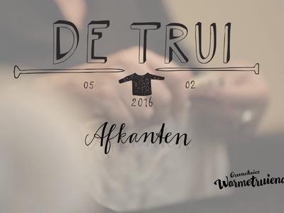 Instructiefilm 5: Afkanten | Brei De Trui Van 2016