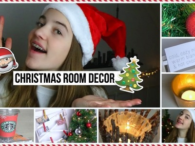 DIY Christmas Room Decor! | BeautyDress