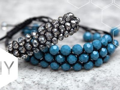 DIY sieraden maken met Kralenhoekje - Satijnkoord armband